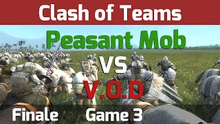 Medieval 2 Total War: Clash of Teams Tournament - Finale G3 Peasant Mob vs V.O.D