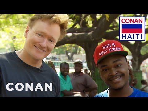 Conan Hits The Streets Of Port-Au-Prince  - CONAN on TBS