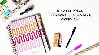 Inkwell Press liveWELL Planner Overview