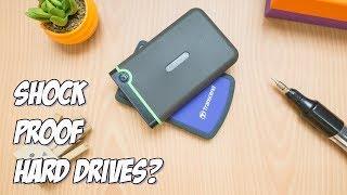 Transcend StoreJet 25M3 VS 25H3 - What's inside a shockproof hard drive? thumbnail
