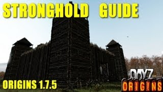 Гайд по постройке крепости в Dayz Origins 1.7.5. (stronghold Guide)