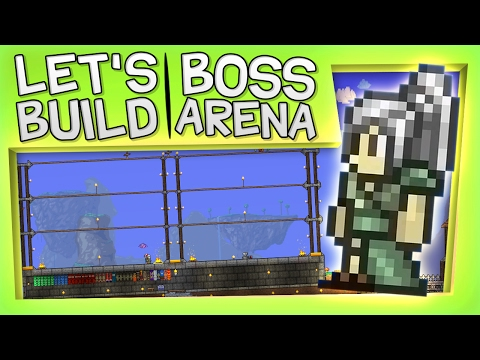 Terraria - Let's Build A Boss Fight Arena!
