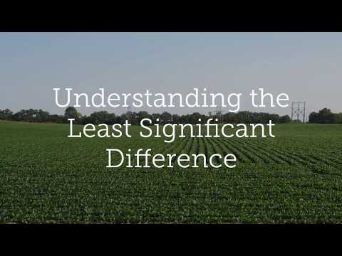 Understanding Ag Research - The Least Significant Difference