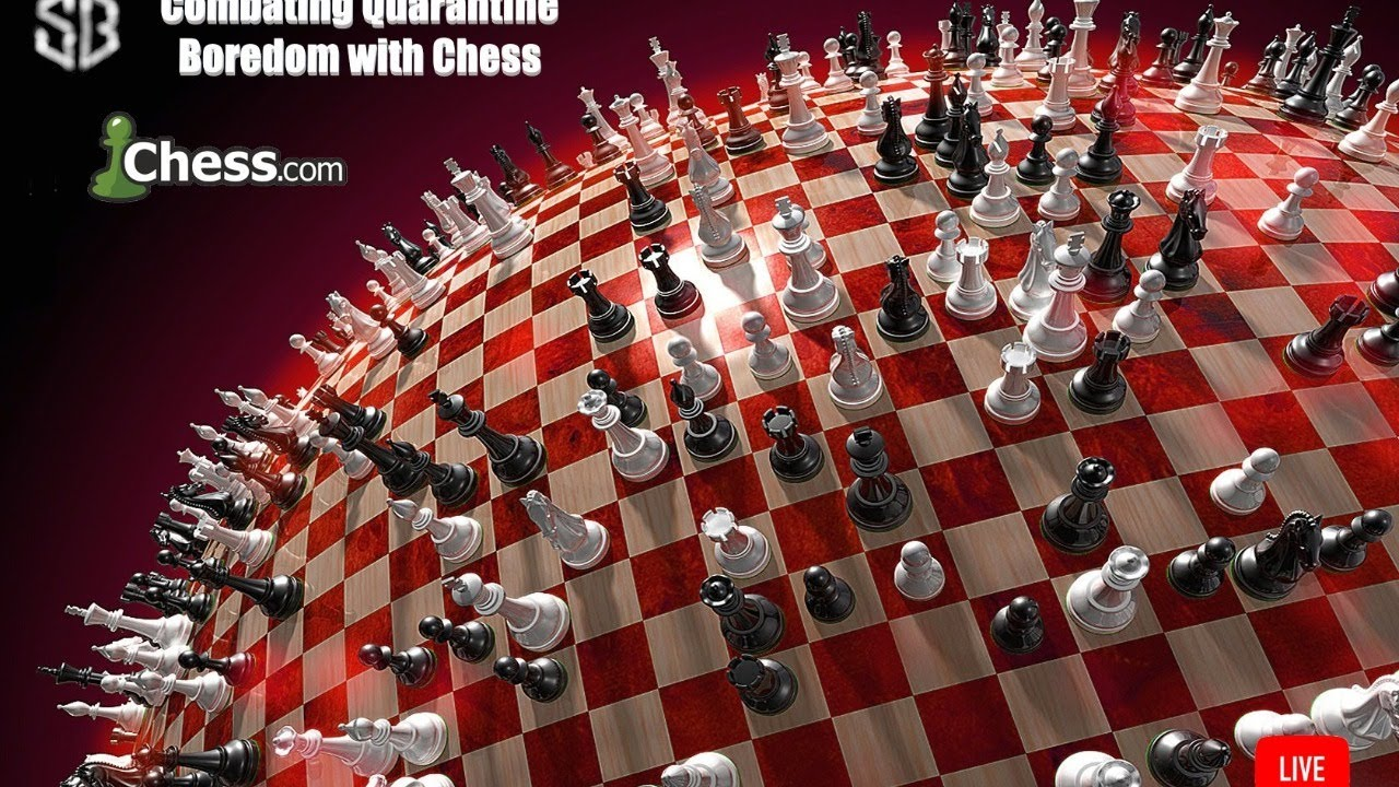 Combating Quarantine Boredom with Chess || Live - Science's Bedroom