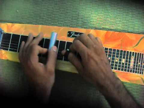 cristo voltará guitarra havaiana solo lap steel guitar