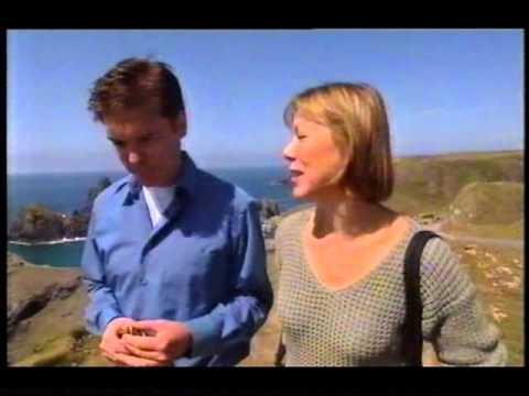 Jenny Agutter 2002 UK TV  at Kynance Cove near her Cornish home