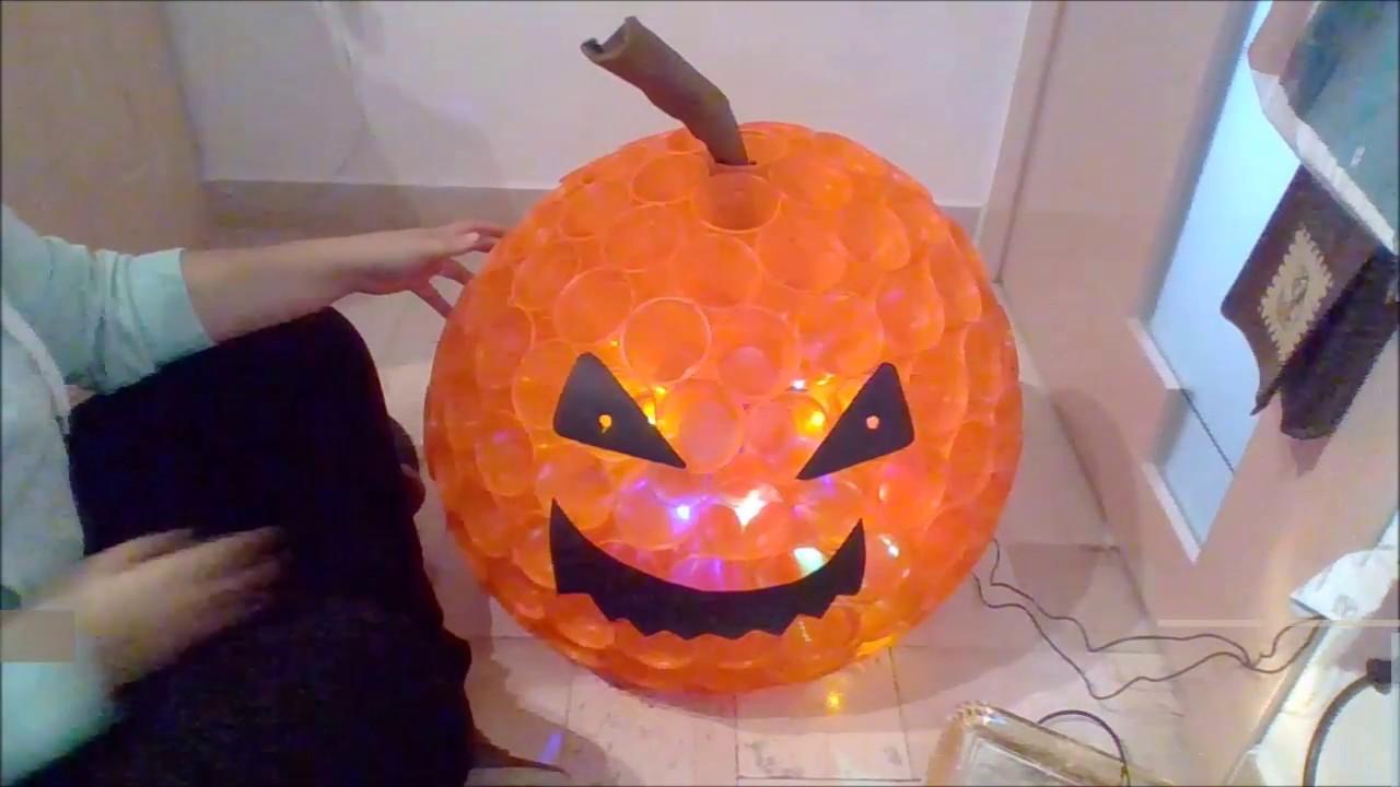 Halloween Pumpkin with glasses - Zucca di Halloween di bicchieri ... 5c48716a7ccf