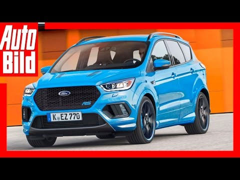 zukunftsvision ford kuga rs das sport suv 2018 youtube. Black Bedroom Furniture Sets. Home Design Ideas