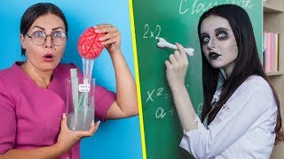 Download Зомби в школе! Зомби-канцелярия – 12 идей Mp3 and Videos