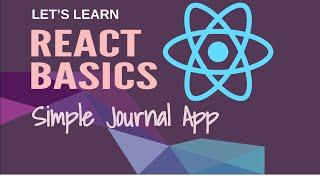 React Basics: Simple Journal App (Part 2) screenshot 4