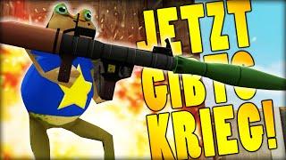 JETZT GIBTS KRIEG!! | The Amazing Frog #2