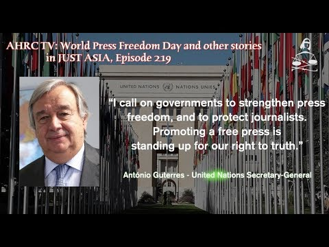 World Press Freedom Day and other stories in JUST ASIA, Episode 219