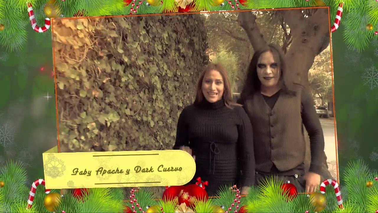 Faby Apache y Dark Cuervo ¡Feliz Navidad - Lucha Libre AAA ...