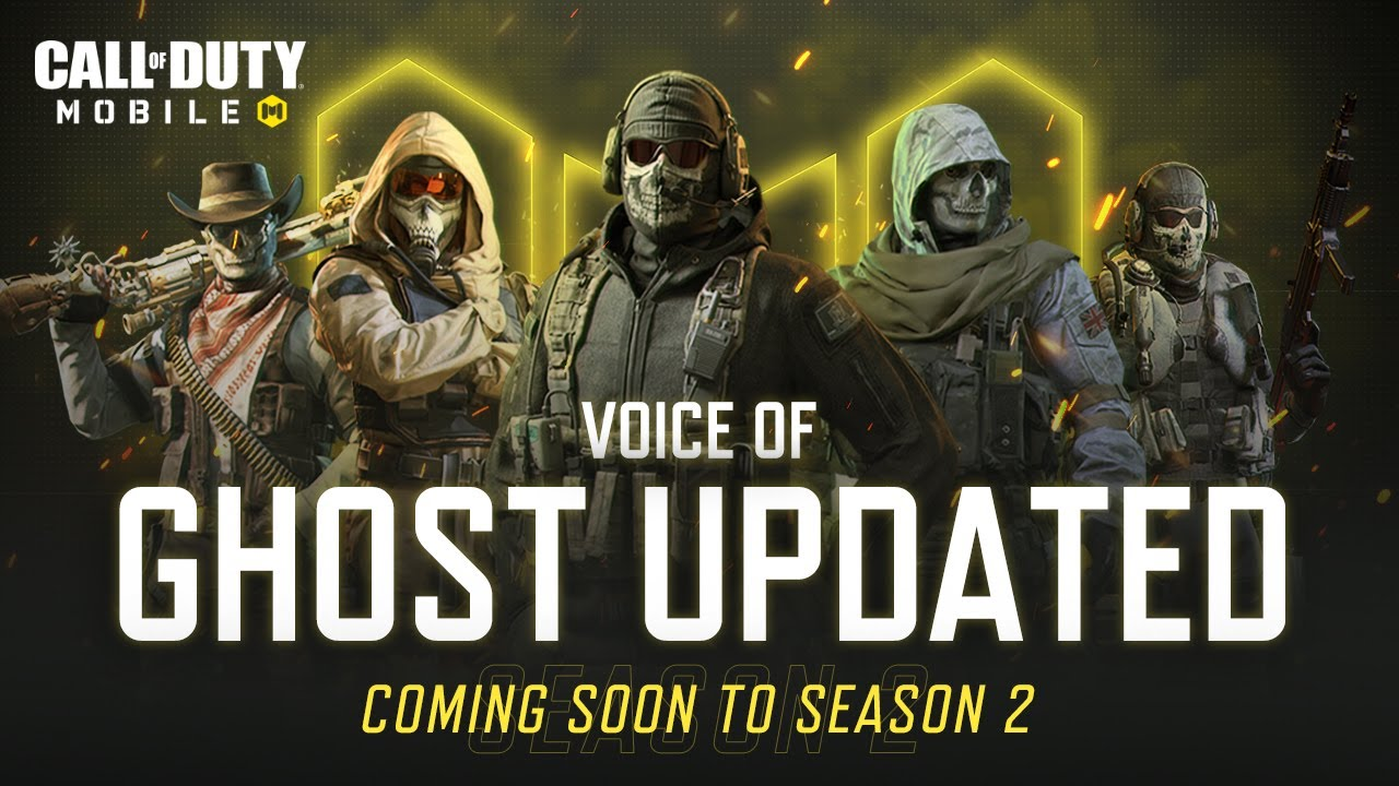 Voice Of Ghost Updated | Coming to Season 2