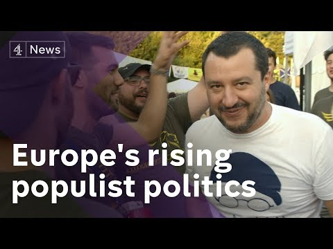 Face to face with Matteo Salvini, Italy's far-right Deputy PM