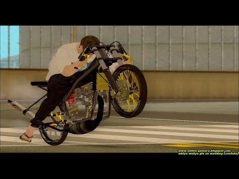 Seting Drag Bike Ninja 155cc Mantap Jiwa + Share Mod