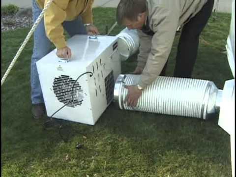 L.B. White Premier Tent Heater Setup Instructions & L.B. White Premier Tent Heater Setup Instructions - YouTube