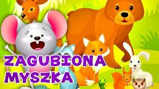 Leśne zwierzęta dla dzieci - szukam mamy w lesie