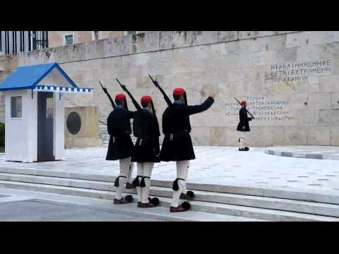 Hellenic Parliament Change of Guard