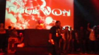 "Raekwon finished the set with ""North Star"""