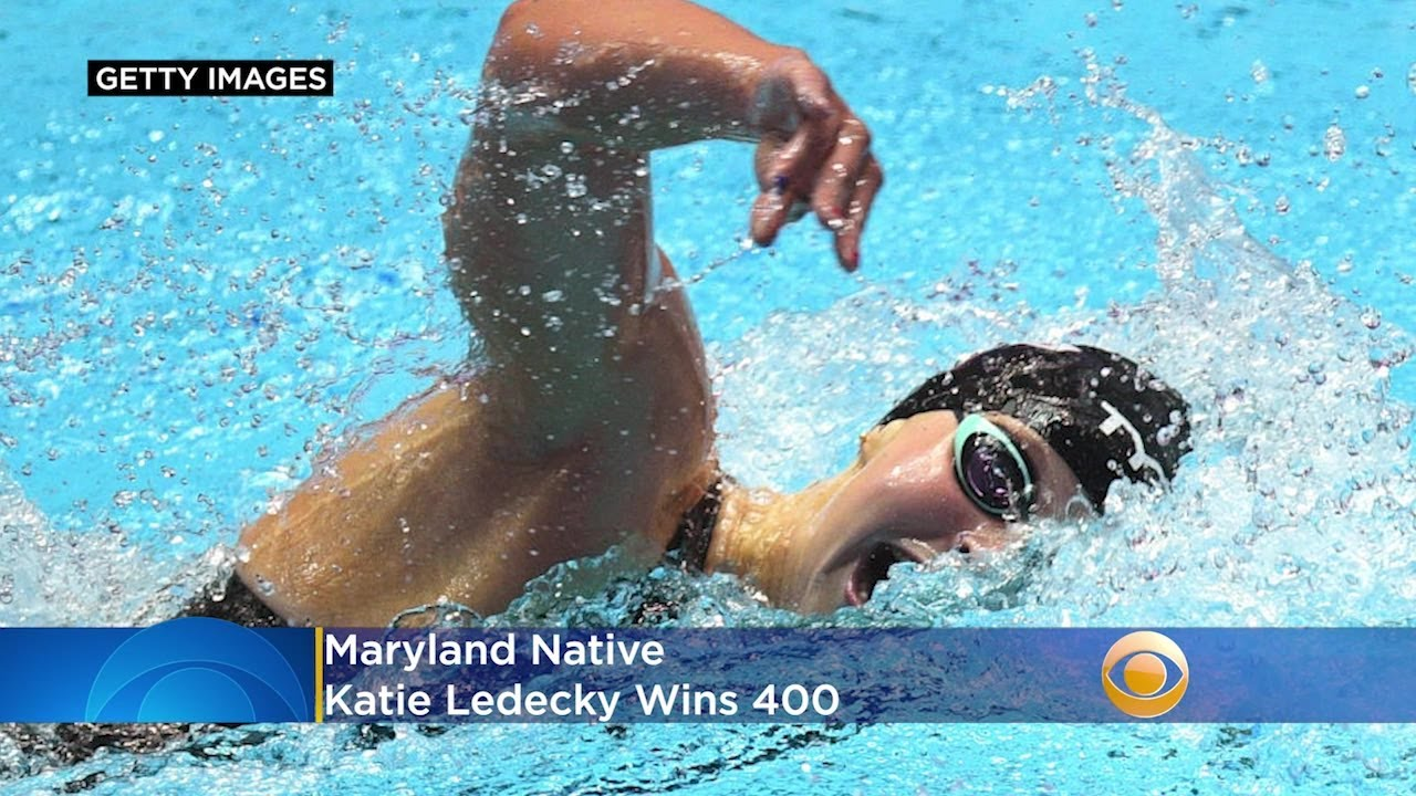 Need For Speed: Maryland Native Katie Ledecky Wins 400, But ...