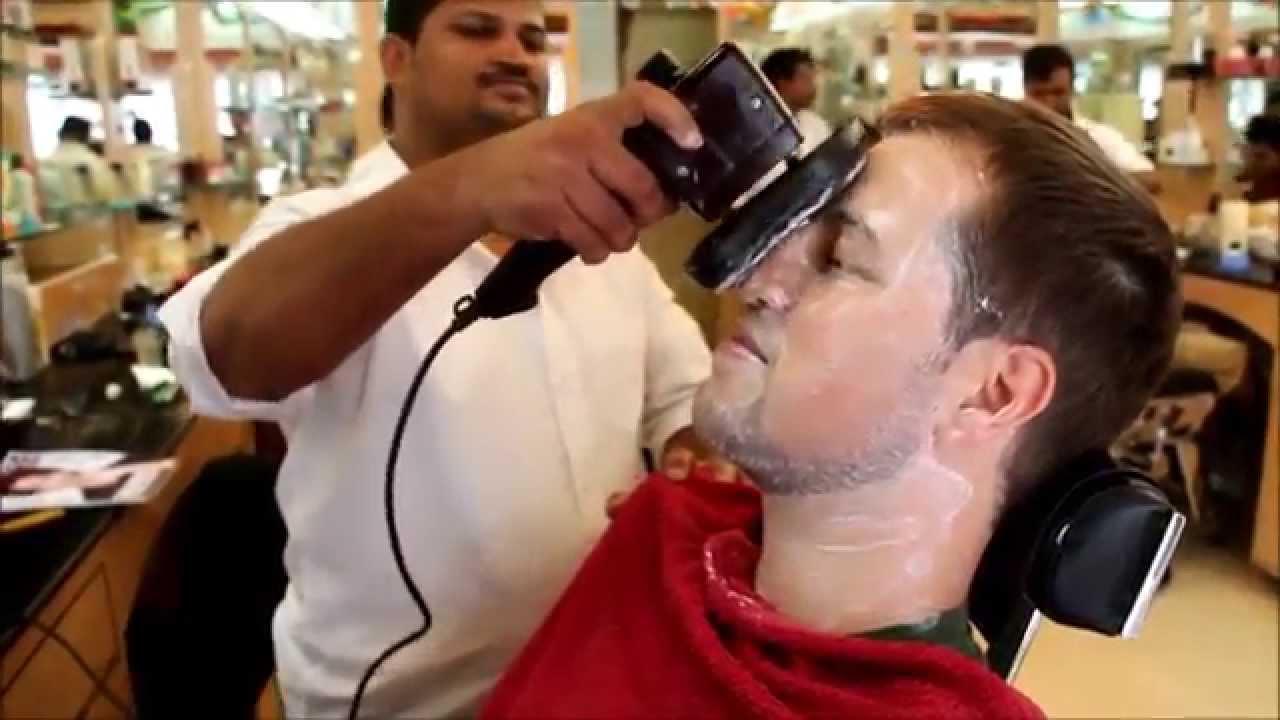 Barber shop massage sex