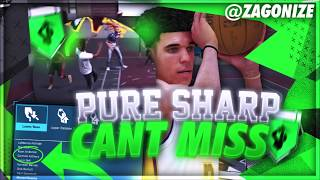 MY PURE SHARP CANT BE STOPPED! NEW BEST JUMPSHOT NBA 2K18 AFTER ALL PATCHES!