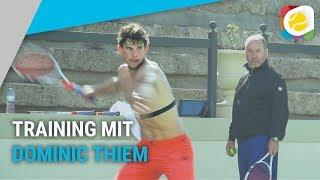 Dominic Thiem's Saisonvorbereitung mit Dominator-Training   Stachis Welt   myTennis