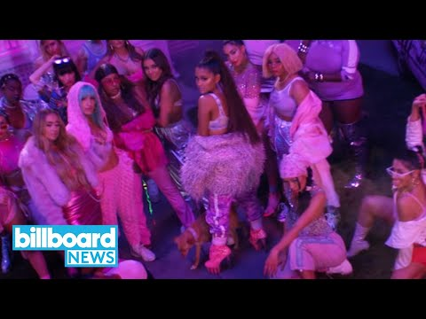 Ariana Grande Hits No. 1 on Hot 100 for 6th Week With '7 Rings' | Billboard News Mp3