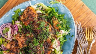 How To Make Balsamic-Glazed Chicken with Fennel & Celery Slaw By Rachael