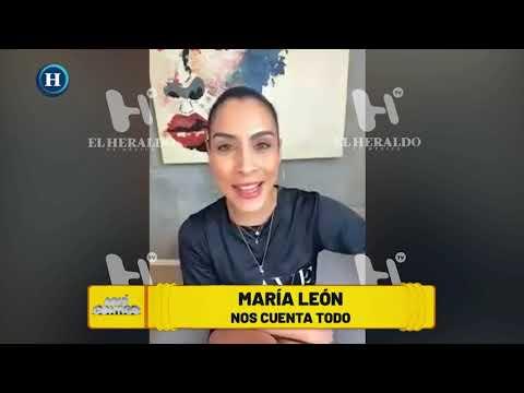 María León revela EN EXCLUSIVA su relación con famoso actor