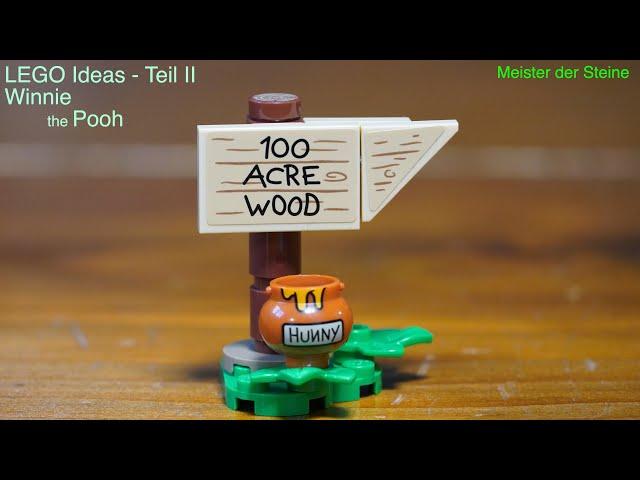 Winnie the Pooh, Lego IDEAS, 21326, Meister der Steine, Teil 2