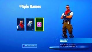 How To Get FREE Prodigy Skin Bundle! Fortnite PS4 Plus Skins - Playstation Celebrations Pack 4 Items