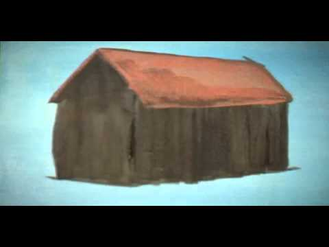 Beginning Art Student Lesson:  Painting The Basic House In Acrylics