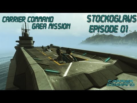 Lets Play Carrier Command Gaea Mission - Ep 01