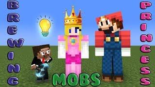 Monster School | Mobs Brewing Princess | Monster School