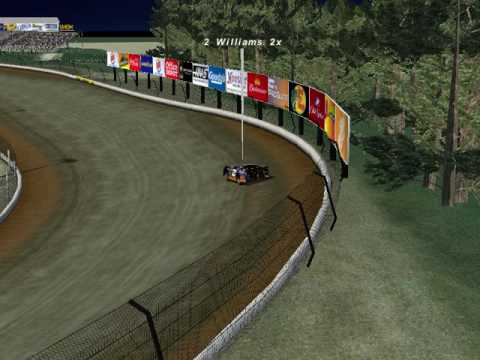 Dirt late model at eldora speedway