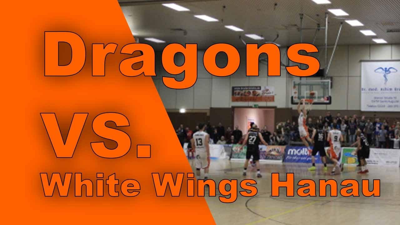 dragons vs hebeiser white wings hanau youtube. Black Bedroom Furniture Sets. Home Design Ideas