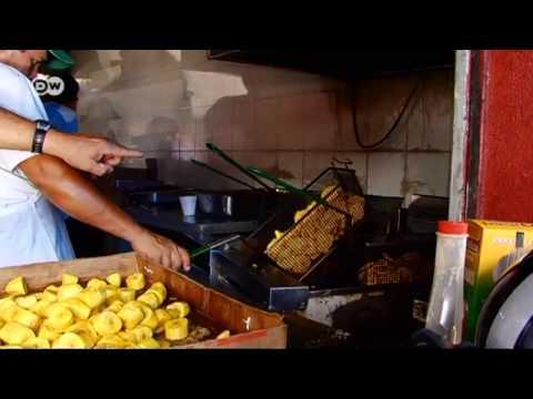 Comida rápida: los patacones, rodajas de plátano fritas | Global 3000