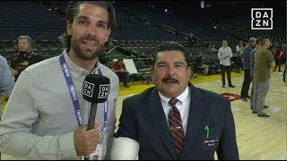 Interview mit Guillermo - NBA Finals   DAZN - NBA