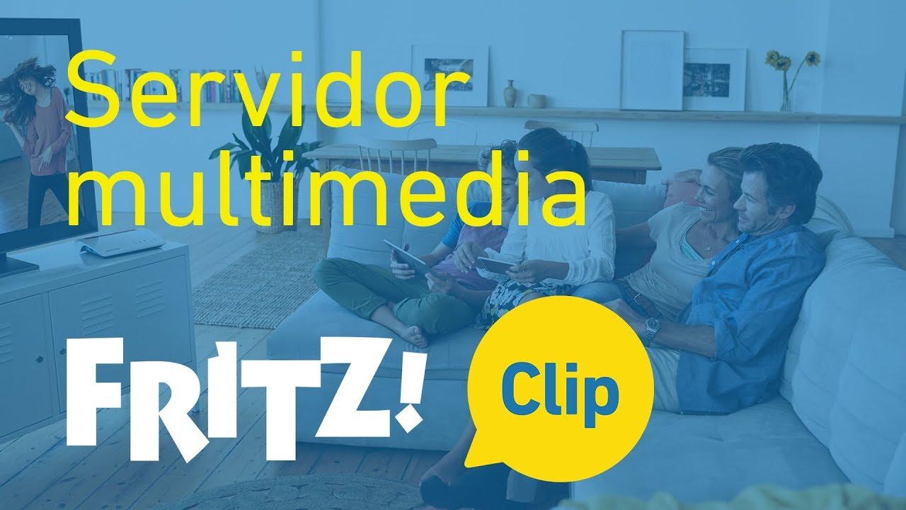 FRITZ! Clip — El FRITZ!Box como servidor multimedia