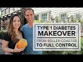 Type 1 Diabetes Makeover – From Rollercoaster to Full Control
