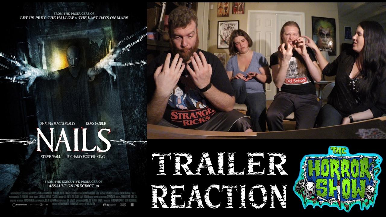 """nails"" 2017 horror movie trailer"