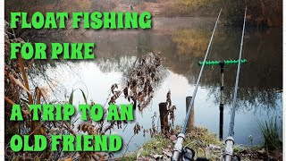 Float Ledger Fishing For Pike // Trip to an Old Friend // Session 9