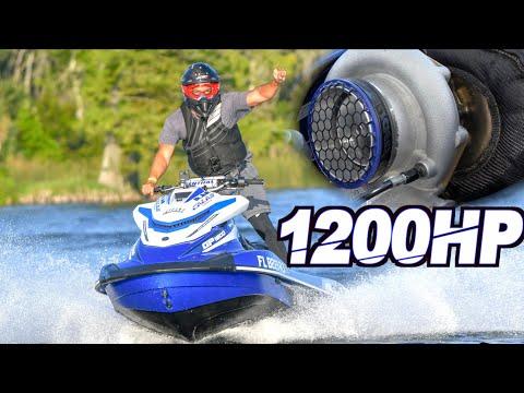 1200HP Turbo Jetski
