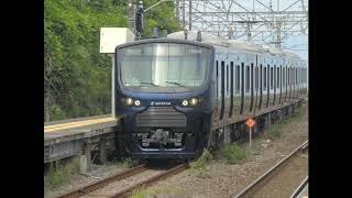 相鉄12000系試運転根府川駅 190905撮影分