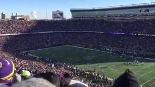Minnesota Vikings vs Seahawks missed field goal