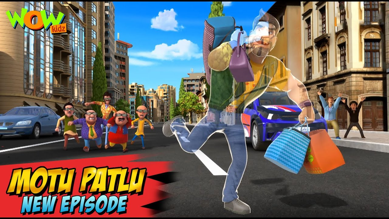 Download Motu Patlu New Episodes 2021 | Invisible Chor in Berlin | Funny Stories | Wow Kidz
