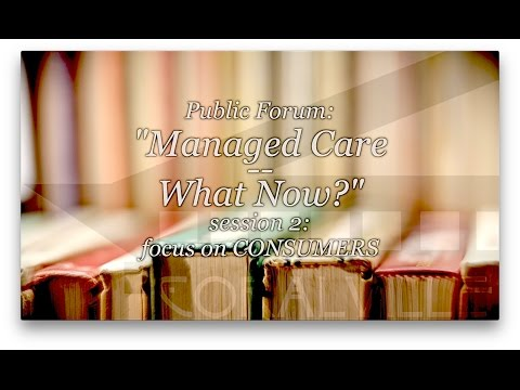 Iowa Managed Care - What Now? -- CONSUMERS