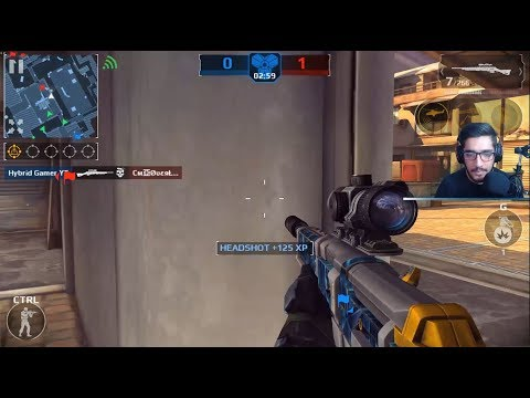 Modern Combat 5 - NO SCOPE CHALLENGE#5 (INSANE KILLS) - LIVE!#116